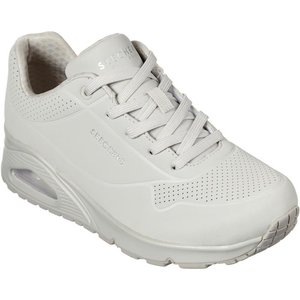 Skechers Womens Uno Stand On Air In Off White 840054 Womens Footwear