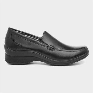 Softlites Womens Black Casual Slip On Shoe 10238 Womens Footwear