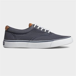 Sperry Striper Ii Cvo Mens Canvas Shoe In Navy 520214 Mens Footwear