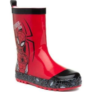 Spiderman Kids Red Wellington Boot 799001 Childrens Footwear