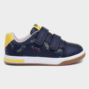 Sprox Boys Navy Easy Fasten Shoe 207005 Childrens Footwear