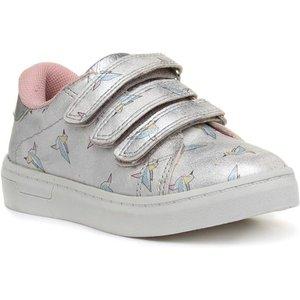 Sprox Girls Silver Bird Touch Fasten Shoe 29252 Childrens Footwear