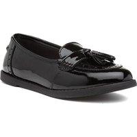 Term Harley Girls Black Leather Patent Loafer 20422 Childrens Footwear