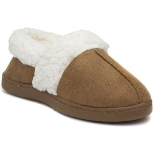 The Slipper Company Womens Full Tan Slipper 694005 Womens Footwear