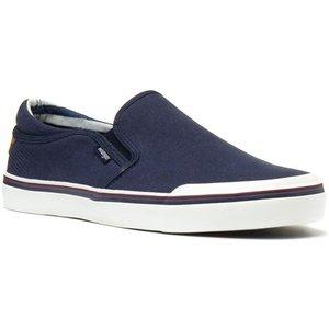 Wrangler Idol Mens Blue Slip On Casual Canvas 59217 Mens Footwear