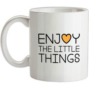 Chargrilled Enjoy The Little Things Mug. G0enjoythelittlethings Novelty T Shirts