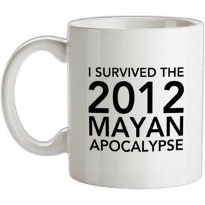 Chargrilled I Survived The 2012 Mayan Apocalypse Mug. G0isurvivedthe212mayanapocalypse Novelty T Shirts