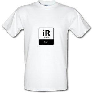 Chargrilled Irish Element Male T-shirt. M0irishelement Novelty T Shirts