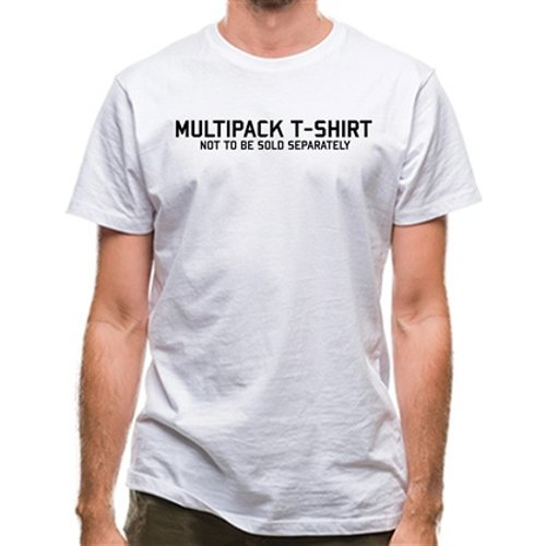 Chargrilled Multipack T-shirt Not To Be Sold Seperately Classic Fit. C0multipack Novelty T Shirts