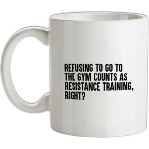 Chargrilled Resistance Training Mug. G0resistancetraining Novelty T Shirts