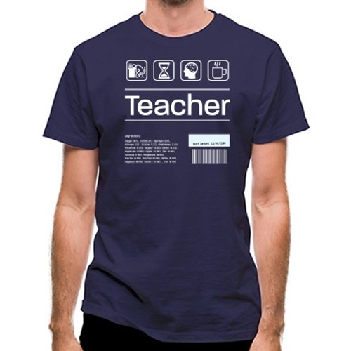 Chargrilled Teacher Ingredients Classic Fit. C0teacheringredients Novelty T Shirts