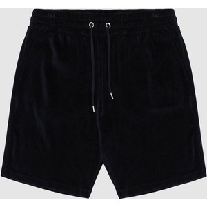 Reiss Akin - Cotton-blend Towelling Shorts In Navy, Mens, Size S Reiss41702930001, Navy