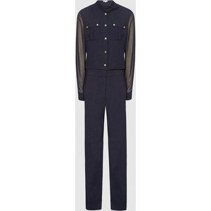 Reiss Andrea - Wide Leg Jumpsuit In Navy, Womens, Size 4 Reiss33805130004, Navy