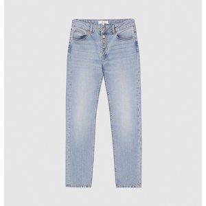 Reiss Bailey - Mid Rise Slim Cropped Jeans In Light Blue, Womens, Size 32s Reiss20802733182, Light Blue