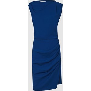 Reiss Bali - Ruched Bodycon Dress In Blue, Womens, Size 16 Reiss29635645016, Blue