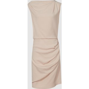Reiss Bali - Ruched Bodycon Dress In Nude, Womens, Size 12 Reiss29635603012, Nude