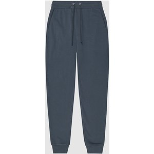 Reiss Bemish - Jersey Loungewear Joggers In Airforce Blue, Mens, Size S Reiss41704833001, Blue