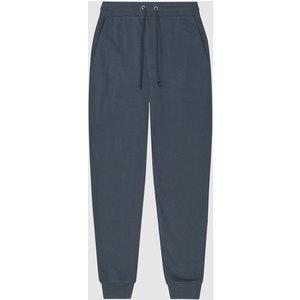 Reiss Bemish - Jersey Loungewear Joggers In Airforce Blue, Mens, Size M Reiss41704833002, Blue