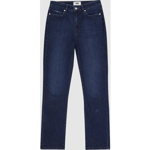 Reiss Cindy - Paige High Rise Slim Fit Jeans In Mid Blue, Womens, Size 30 Reiss20905031530, Mid Blue