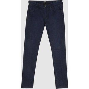 Reiss Croft - Paige High Stretch Super Skinny Jeans In Dark Indigo, Mens, Size 35 Reiss23904645535, Dark Indigo