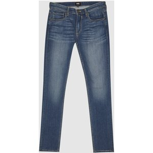 Reiss Croft - Paige High Stretch Super Skinny Jeans In Washed Indigo, Mens, Size 35 Reiss23904231535, Washed Indigo