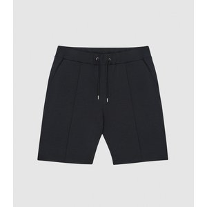 Reiss Dale - Tailored Shorts With Drawcord Waist In Navy, Mens, Size S Reiss41811430001, Navy