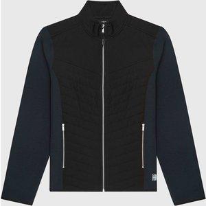 Reiss Formby - Hybrid Performance Jacket In Navy, Mens, Size L Reiss41810530003, Navy