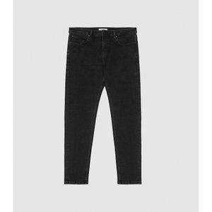 Reiss Harun - Tapered Slim Fit Jeans In Black, Mens, Size 34s Reiss23702120135, Black