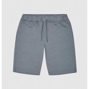 Reiss Hunt - Jersey Shorts In Sky Blue, Mens, Size Xs Reiss41707645000, Sky Blue