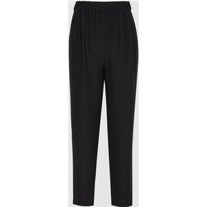 Reiss Joelle - Lurex Joggers In Black, Womens, Size 4 Reiss26606420004, Black
