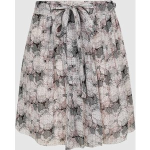 Reiss Jonah - Circle Printed Mini Skirt In Pink Print, Womens, Size 14 Reiss28813393014, Pink Print