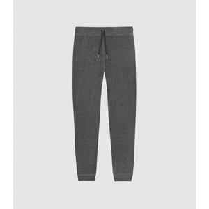 Reiss Jose - Melange Tracksuit Joggers In Dark Grey, Mens, Size S Reiss41706721001, Dark Grey