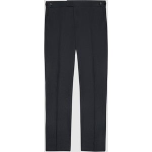 Reiss Kin - Slim Fit Linen Trousers In Navy, Mens, Size 32 Reiss21805030032, Navy