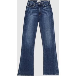 Reiss Leenah - Paige High Rise Flared Jeans In Mid Blue, Womens, Size 30 Reiss20904631530, Mid Blue