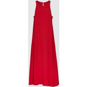 Reiss Lorni - Shift Silhouette Midi Dress In Red, Womens, Size 12 Reiss29930163012, Red