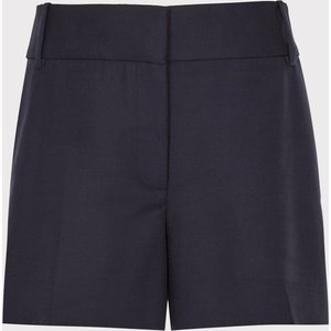 Reiss Lyla - Tailored Shorts In Navy, Womens, Size 16 Reiss19401130016, Navy