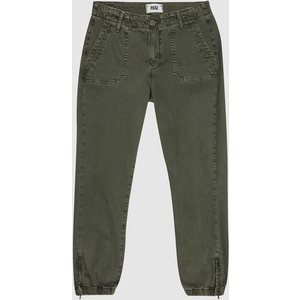 Reiss Mayslie - Paige High Stretch Denim Joggers In Green, Womens, Size 24 Reiss26911450524, Green