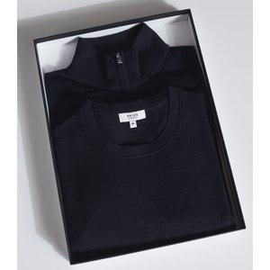 Reiss Merino Multipack - Two Pack Of Merino Wool Jumpers In Navy, Mens, Size Xs Reiss51722530000, Navy
