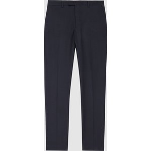 Reiss Pray - Slim Fit Travel Trousers In Navy, Mens, Size 38l Reiss21707230149, Navy