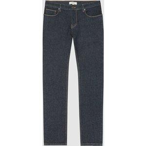 Reiss Sivas - Rinse Wash Denim Jeans In Blue, Mens, Size 28r Dark Blue Reiss23701445138, Dark Blue