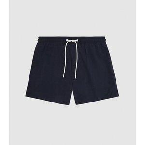Reiss Sonar - Drawstring Swim Shorts In Navy, Mens, Size S Reiss43600130001, Navy