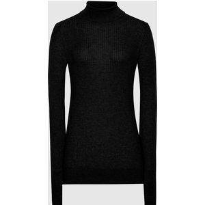 Reiss Sophie - Knitted Roll Neck In Black, Womens, Size S Reiss55711720001, Black