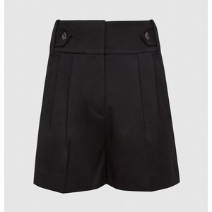 Reiss Stanton - Tailored Shorts In Black, Womens, Size 4 Reiss19701820004, Black