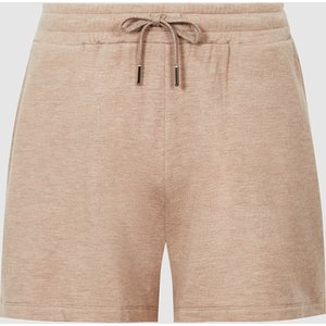 Reiss Suzy - Brushed Loungewear Shorts In Camel, Womens, Size M Reiss86806613002, Camel