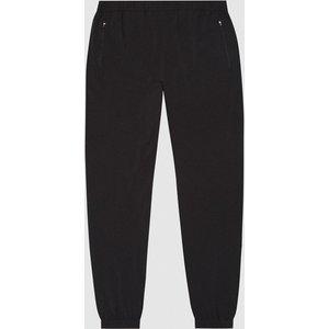 Reiss Thomas - Windproof Cuffed Joggers In Black, Mens, Size S Reiss41812020001, Black