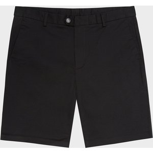 Reiss Wicket - Casual Chino Shorts In Black, Mens, Size 36 Reiss24800320036, Black