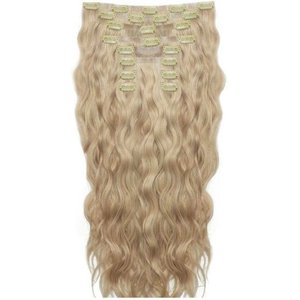 18 Beach Wave Double Hair Set - Bohemian Blonde Beauty Works Online Beach 18 Boh