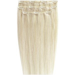 18 Deluxe Remy Instant Clip-in Extensions - Vintage Blonde Beauty Works Online Clip 18 Vin