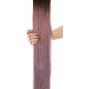 20 Celebrity Choice® - Weft Hair Extensions - Metallic Mauve Beauty Works Online Celeb 20 Mam