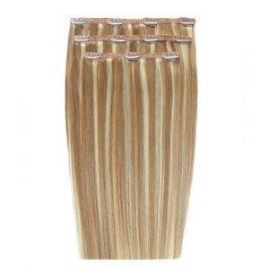 20 Deluxe Remy Instant Clip-in Extensions - California Blonde Beauty Works Online Clip 20 Cb